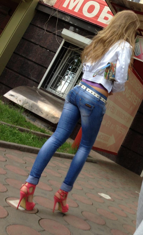 Частное в джинсах и без фото 23 фотография