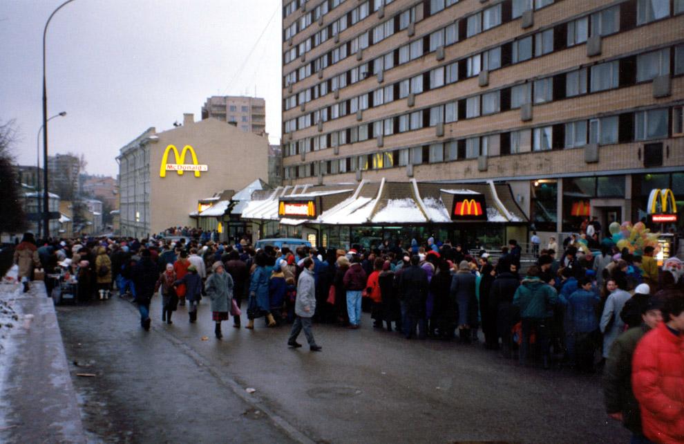 Италию Санкт-Петербурга, открытие макдональдса на старом автовокзале столь отдаленном будущем