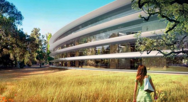 Полет вокруг Apple Campus 2 за $5 миллиардов